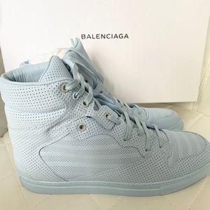 Balenciaga Blue Arena Triple S Sneakers